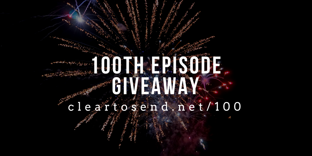 100th episode giveaway