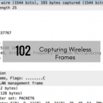 CTS 102: Capturing Wireless Frames