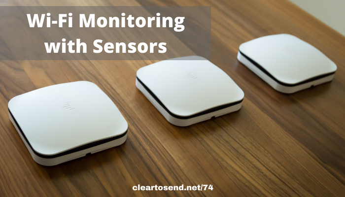 Monitoring Wi-Fi with Cape Sensors