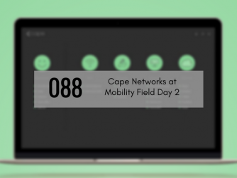 Dashboard title of Cape Networks